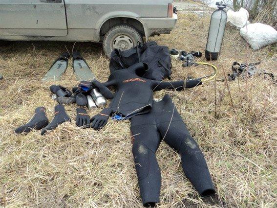 На Хмельниччині браконьєр виловив близько півтори тисячі раків (Фото) (фото) - фото 1