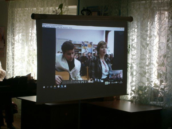 У Слов'янській дитячій бібліотеці відбулось скайп-спілкування з Луцьком (фото) - фото 1