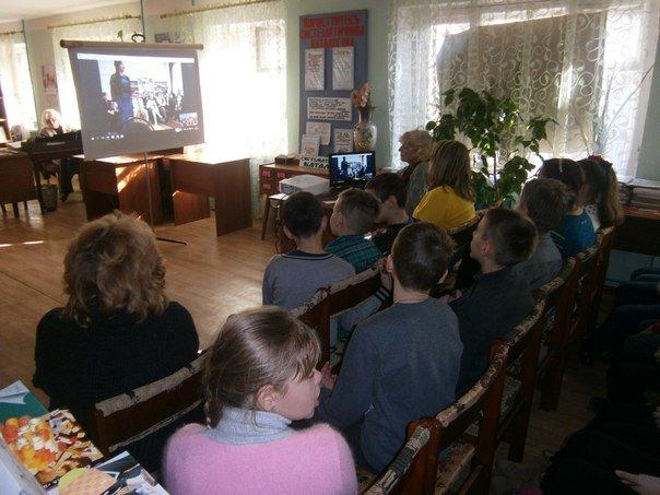 У Слов'янській дитячій бібліотеці відбулось скайп-спілкування з Луцьком (фото) - фото 3