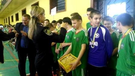 Состоялись финальные соревнования III этапа чемпионата области по футзалу среди юношей (фото) (фото) - фото 1