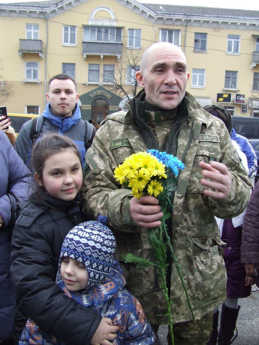 Белоцерковчанина-участника АТО освободили из плена (фото) (фото) - фото 3