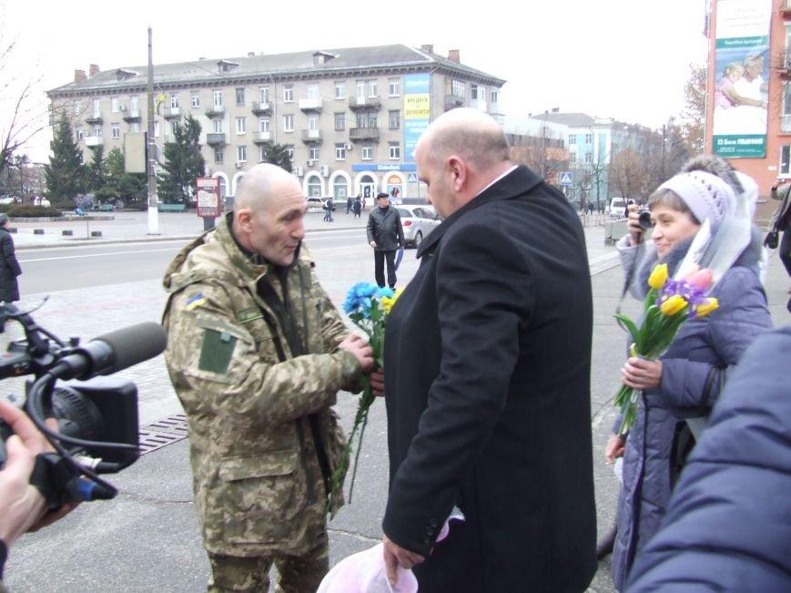 Белоцерковчанина-участника АТО освободили из плена (фото) (фото) - фото 2