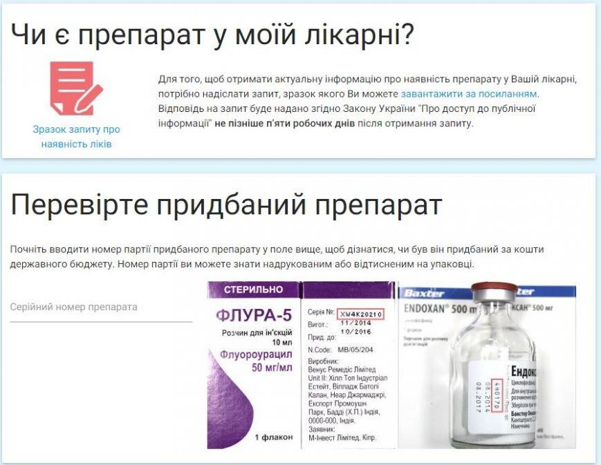 За закупівлею ліків для онкохворих за рахунок держави можна буде слідкувати в онлайн-режимі (Фото) (фото) - фото 1