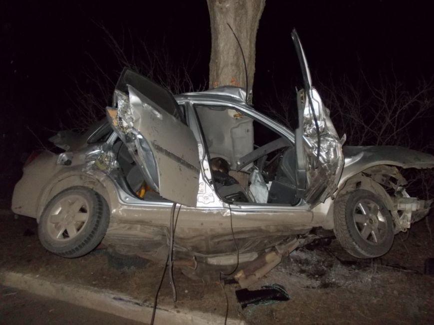 В Запорожье 30-летний водитель врезался в дерево и погиб, - ФОТО (фото) - фото 4