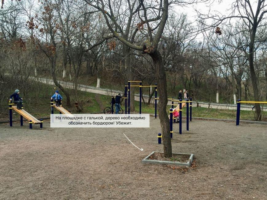 Что-то не клеится: Из благоустроенной зоны отдыха одесситов иногда сбегают... деревья (ФОТО) (фото) - фото 1