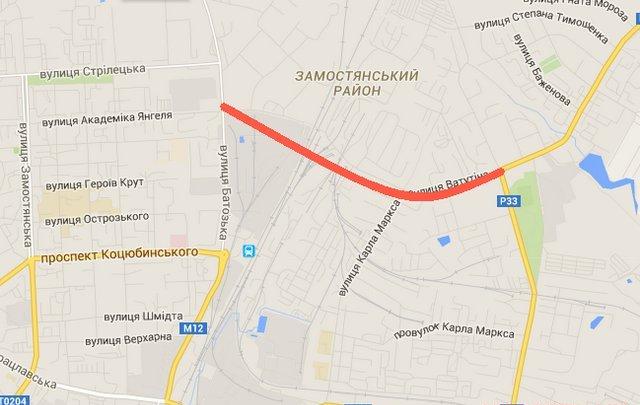 У Вінниці планують з'єднати «Тяжилів» із Замостям новою дорогою, щоб ліквідувати пробки біля вокзалу (фото) - фото 1