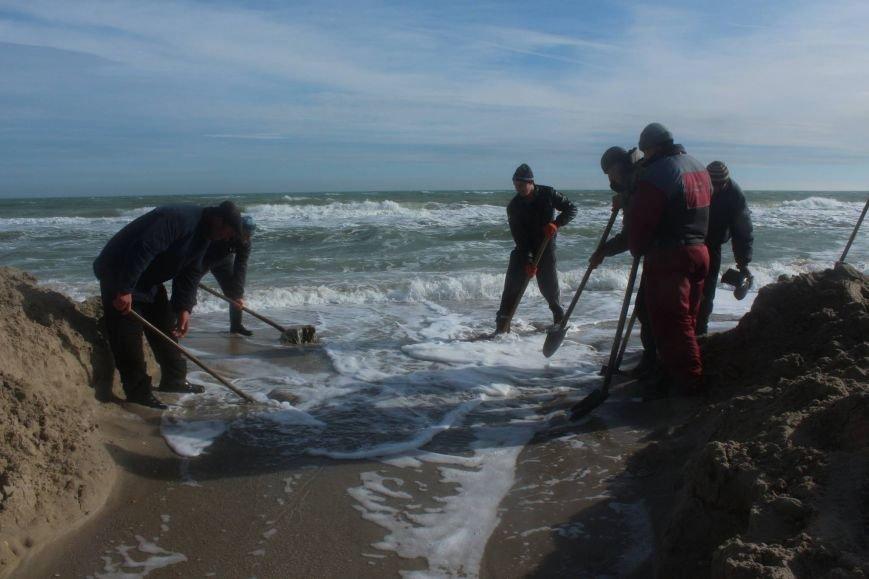Морской прорыв: Под Одесской экологи соединили лиман с морем (ФОТО) (фото) - фото 1