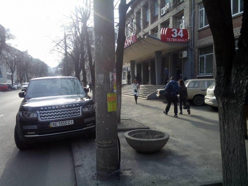 Как новая полиция Днепропетровска штрафует местных VIP-ов (ФОТО), фото-2