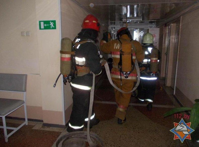 Пожар в оршанском госпитале оказался учениями МЧС (фото) - фото 2