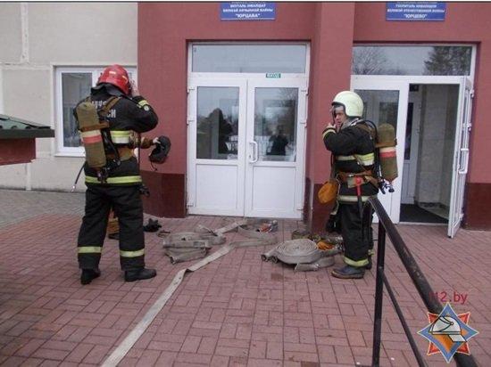 Пожар в оршанском госпитале оказался учениями МЧС (фото) - фото 1