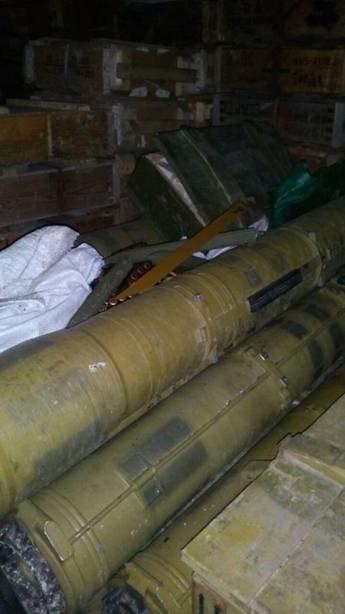 Под Донецком в частном доме найден крупный тайник с оружием (ФОТО) (фото) - фото 2