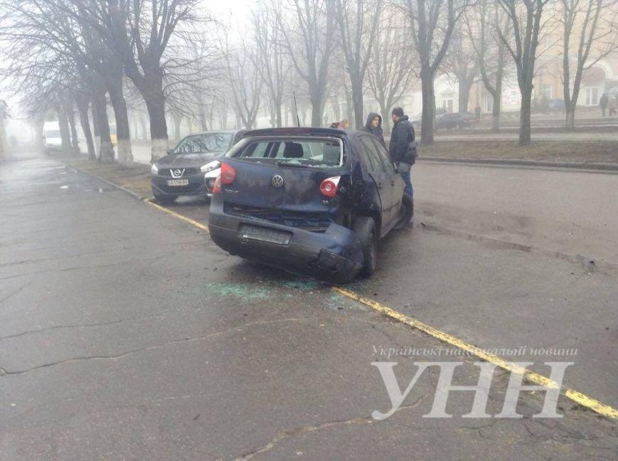Через туман у Черкасах сталася аварія (ФОТО) (фото) - фото 1