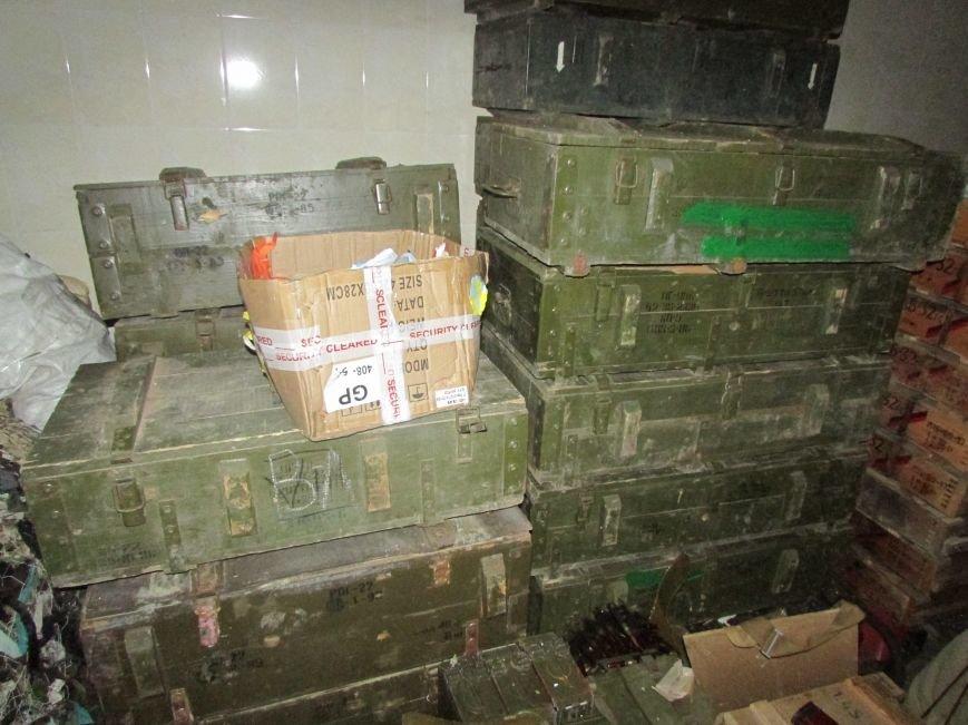 В Донецкой области обнаружен огромный схрон оружия и боеприпасов, фото-2