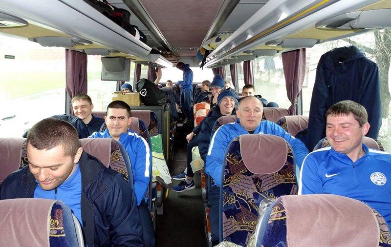 Футболисты белгородского «Энергомаша» прибыли на сборы в Кисловодск (фото) - фото 1