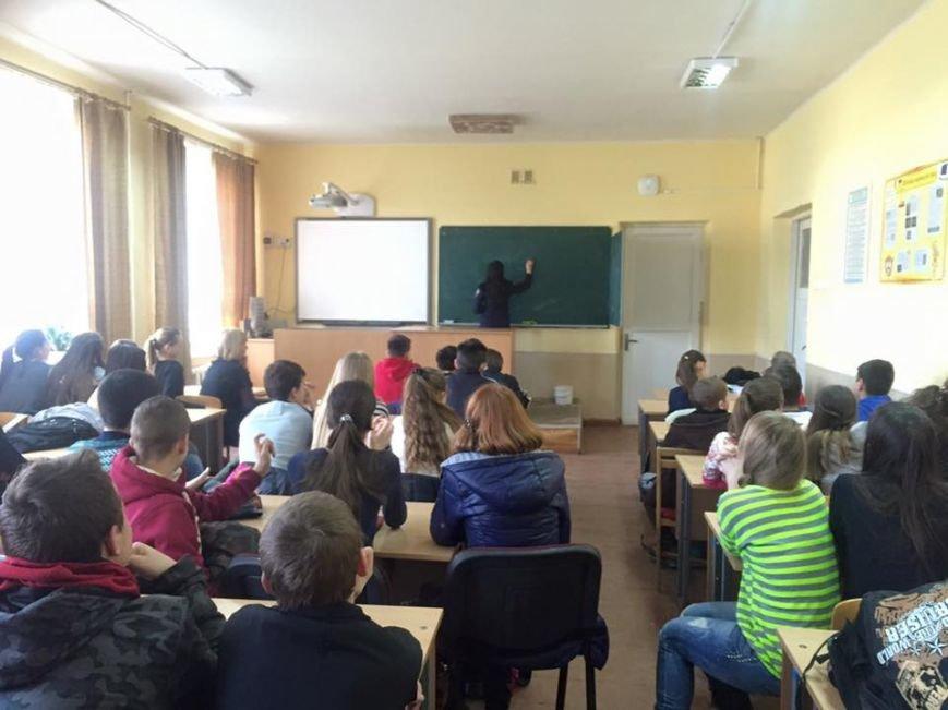 Ужгородські поліцейські завітали до школярів (фото) - фото 1