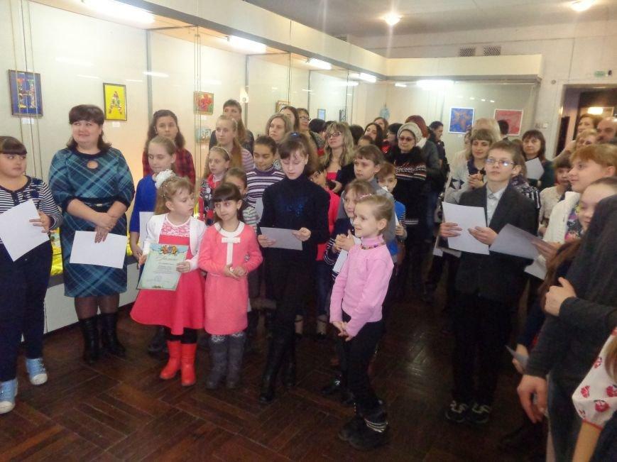 В Красноармейске состоялось награждение юных дарований выставки-конкурса «Таланти твої, Україно!» (фото) - фото 20