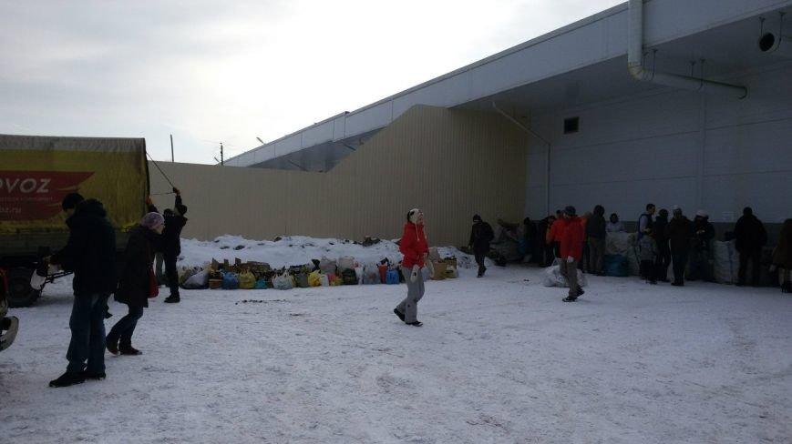Пушкинцы собрали около 30 куб.м. вторсырья на переработку (фото) - фото 1