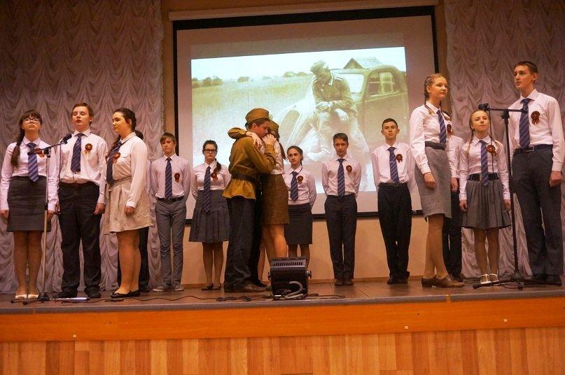 Школьники из Царского Села исполнили патриотические песни  «О Родине, о доблести, о славе» (фото) - фото 1