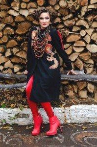 Як знімали тернопільську гумористку Тетяну Песик (Фото), фото-3