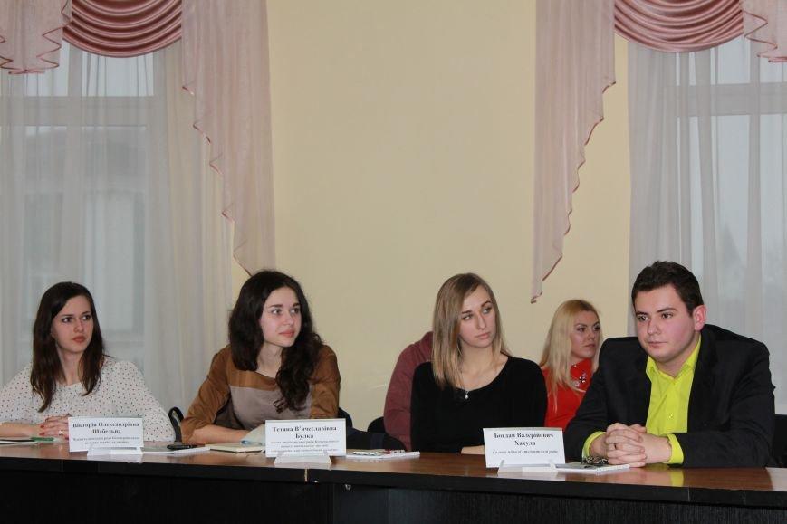 Мэр встретился с молодежным активом Белой Церкви (фото), фото-1