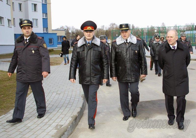 В Гродно открылось новое здание Ленинского райотдела милиции (фоторепортаж) (фото) - фото 2
