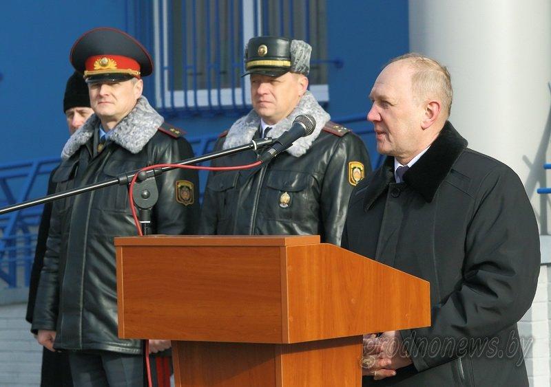 В Гродно открылось новое здание Ленинского райотдела милиции (фоторепортаж) (фото) - фото 4