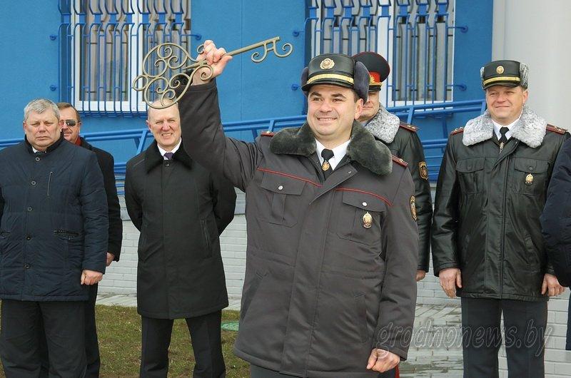 В Гродно открылось новое здание Ленинского райотдела милиции (фоторепортаж) (фото) - фото 12