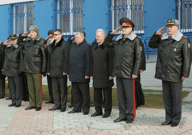 В Гродно открылось новое здание Ленинского райотдела милиции (фоторепортаж) (фото) - фото 8