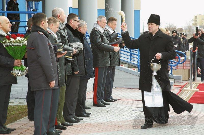 В Гродно открылось новое здание Ленинского райотдела милиции (фоторепортаж) (фото) - фото 7