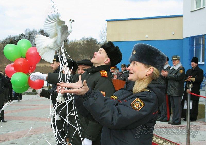 В Гродно открылось новое здание Ленинского райотдела милиции (фоторепортаж) (фото) - фото 11