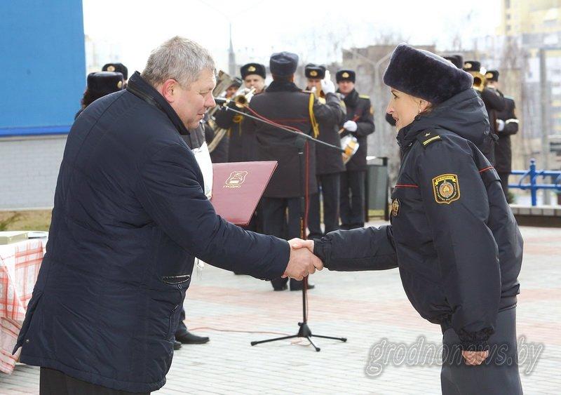 В Гродно открылось новое здание Ленинского райотдела милиции (фоторепортаж) (фото) - фото 9