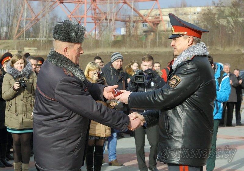 В Гродно открылось новое здание Ленинского райотдела милиции (фоторепортаж) (фото) - фото 1
