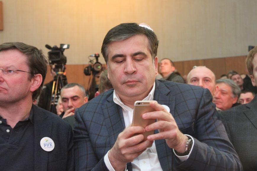 """Саакашвілі в Ужгороді показав свій """"Ролекс"""" за півмільйона гривень, фото-4"""