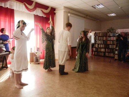 В херсонской библиотеке отметили юбилей Леси Украинки (фото) (фото) - фото 1