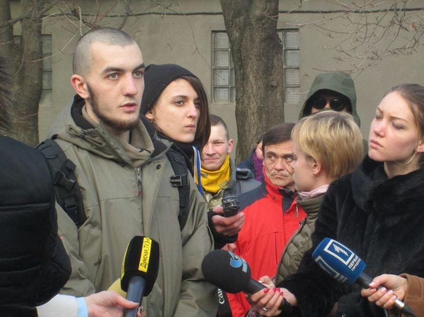 21081298aa9db0e9465841a5e144c4ea Одесские студенты не хотят отдавать землю университета Кивану