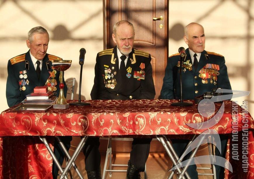 В городе Пушкине состоялись встречи из цикла, посвященного Дням воинской славы России (фото) - фото 1