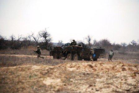 В Херсонской области проходят масштабные военные учения (фото) (фото) - фото 1