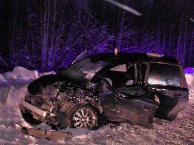 7 человек пострадали в серьёзной аварии на дороге «Нижневартовск – Излучинск», фото-1