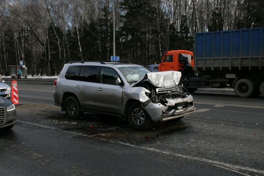 В новой Москве на Калужском шоссе произошло ДТП (ФОТО), фото-4