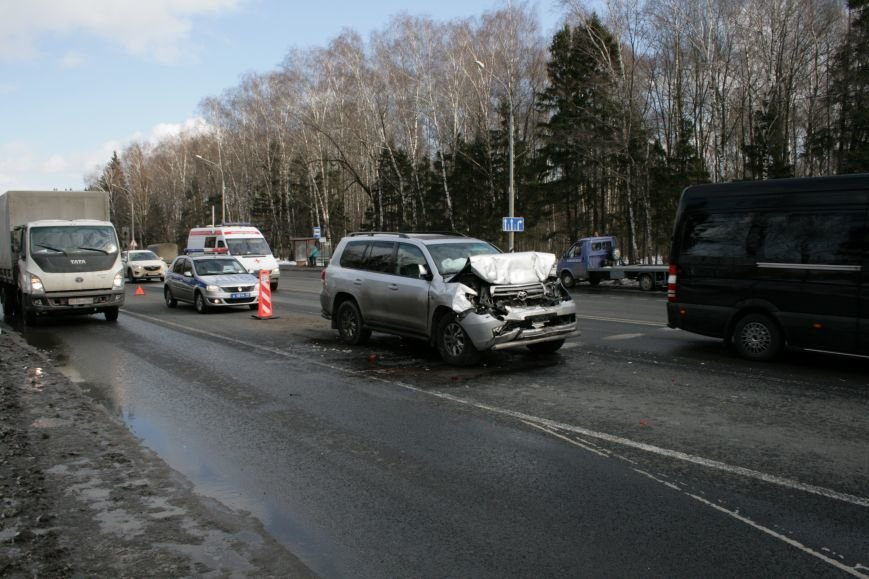 В новой Москве на Калужском шоссе произошло ДТП (ФОТО), фото-5