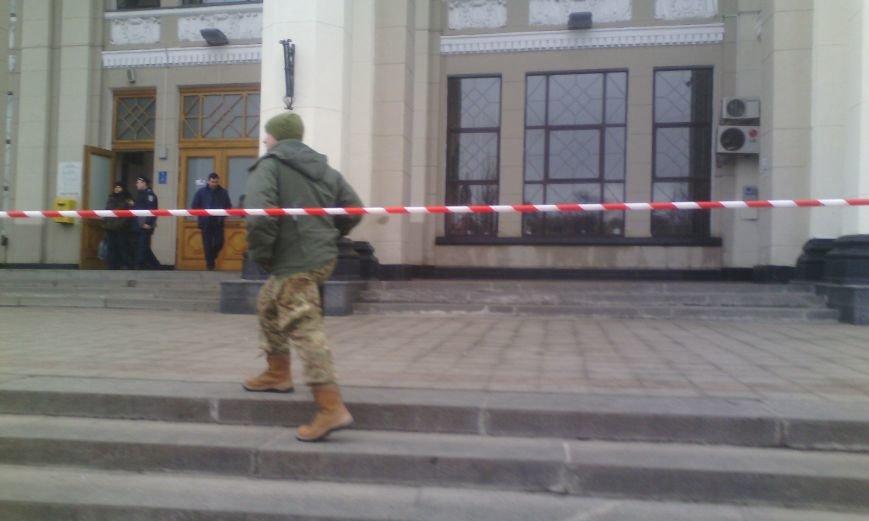 c5004052aed7cabfba3d2ba2d2645f85 В Одессе ищут бомбу в здании железнодорожного вокзала