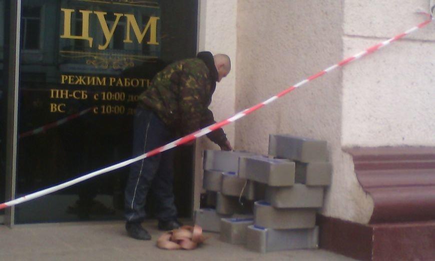 84ded187c5fcd4c81aaa20d701f34e4d В Одессе конфликт предпринимателей с горсоветом: Полиция на месте
