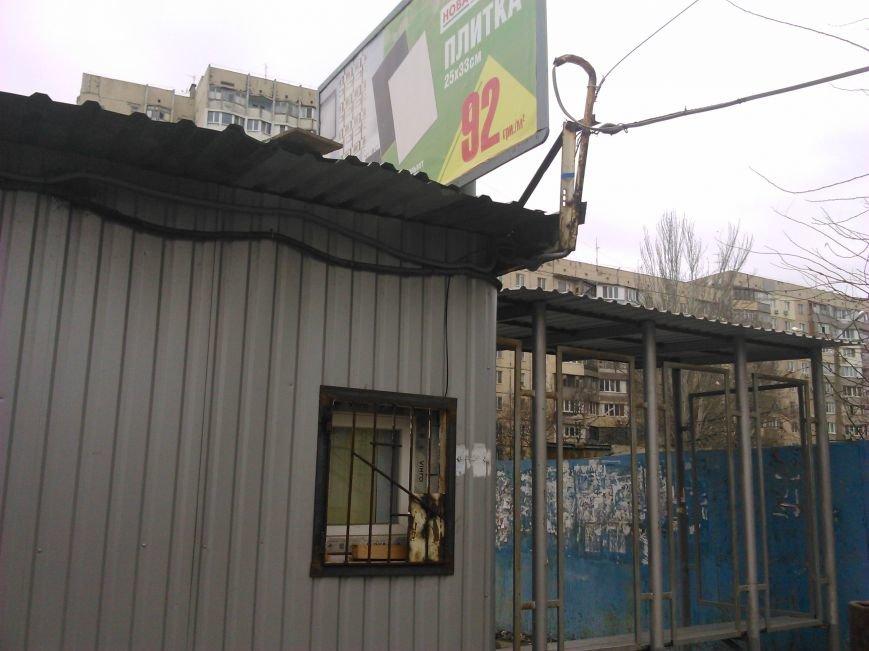 06bd207b5edfe0d78541faf0dc8f4a9d Нью-Васюки. В Одессе продали автобусную остановку