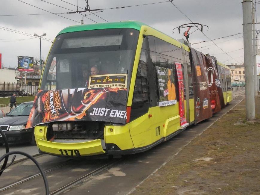 Як львів'янин тягнув зубами трамвай на вулиці Городоцькій (ФОТО+ВІДЕО), фото-1