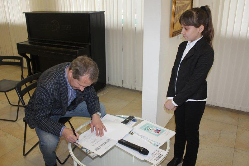 Сказка от «РасКраски». Евгений Крамской провёл творческую встречу с юными белгородцами, фото-5