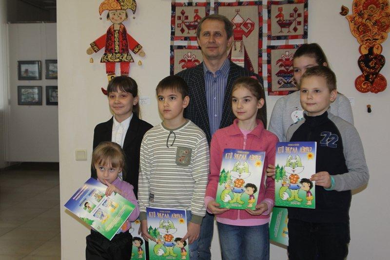 Сказка от «РасКраски». Евгений Крамской провёл творческую встречу с юными белгородцами, фото-8