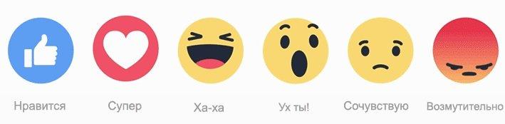 Макеевчане могут выразить шесть различных эмоций с помощью нового функционала в Facebook (фото) - фото 1