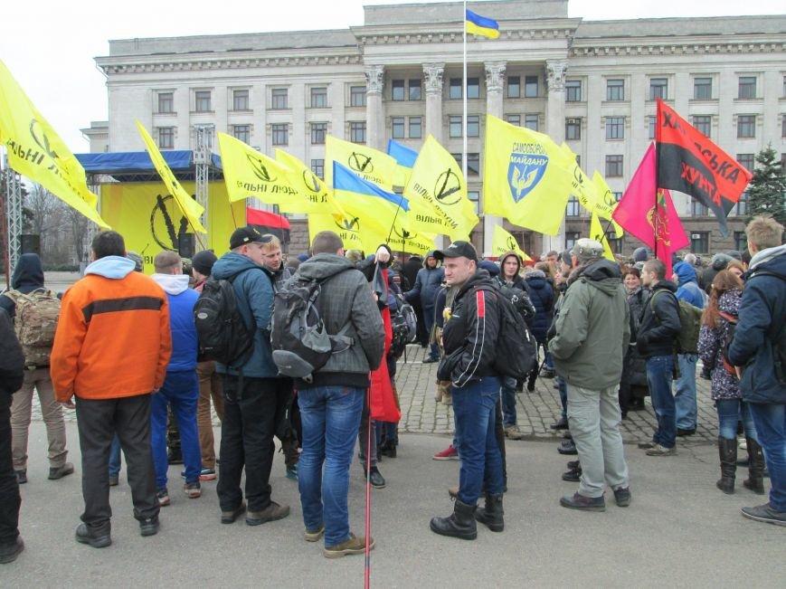 """239ef669d5b587e4f105bdd8263d5842 Украина без олигархов и оккупантов: В Одессу съехалась """"Самооборона"""" со всей страны"""