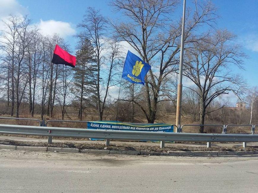 Конотопські активісти поновили блокування руху російських вантажівок в смт Батурин(Фото, Відео), фото-3