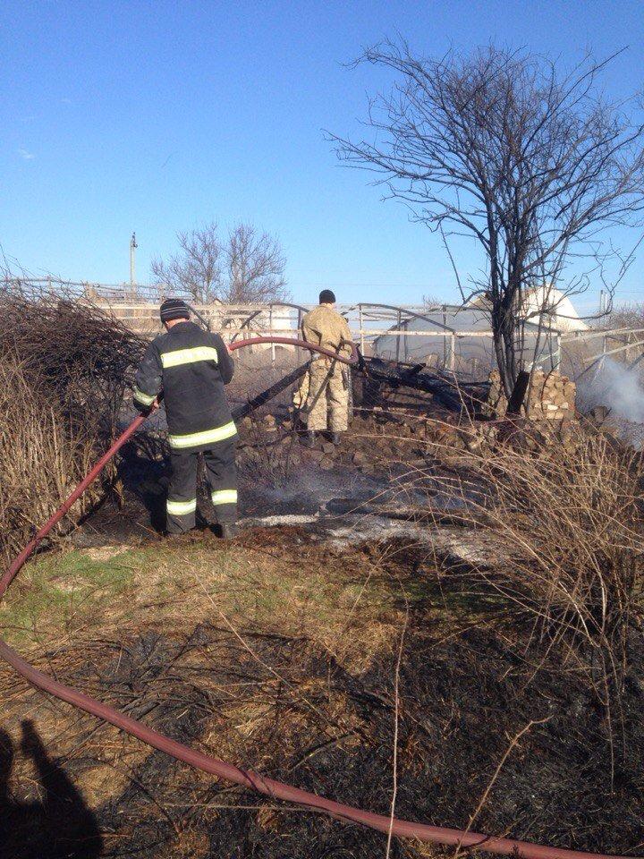 Осторожно! В Кременчуг вернулись пожары на открытых территориях (фото) - фото 1